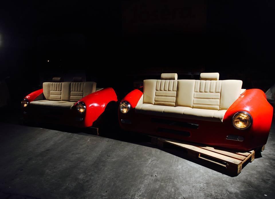 Unique Porsche Style Couch Sofa Evolution Gt