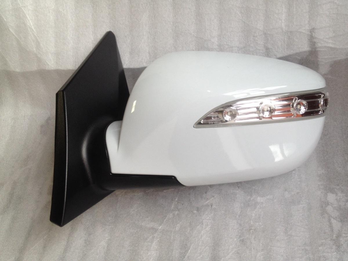 Hyundai ix35 wing mirror n s left p folding white 2010 for Mirror please