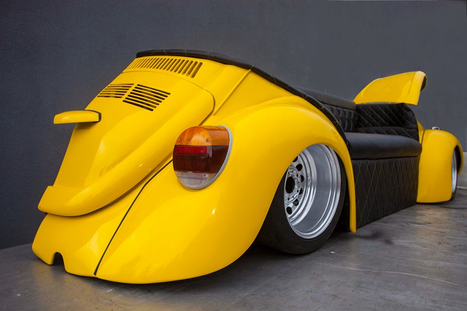 Cool Retro Style Car Sofa Beetle Herbie Couch Evolution Gt