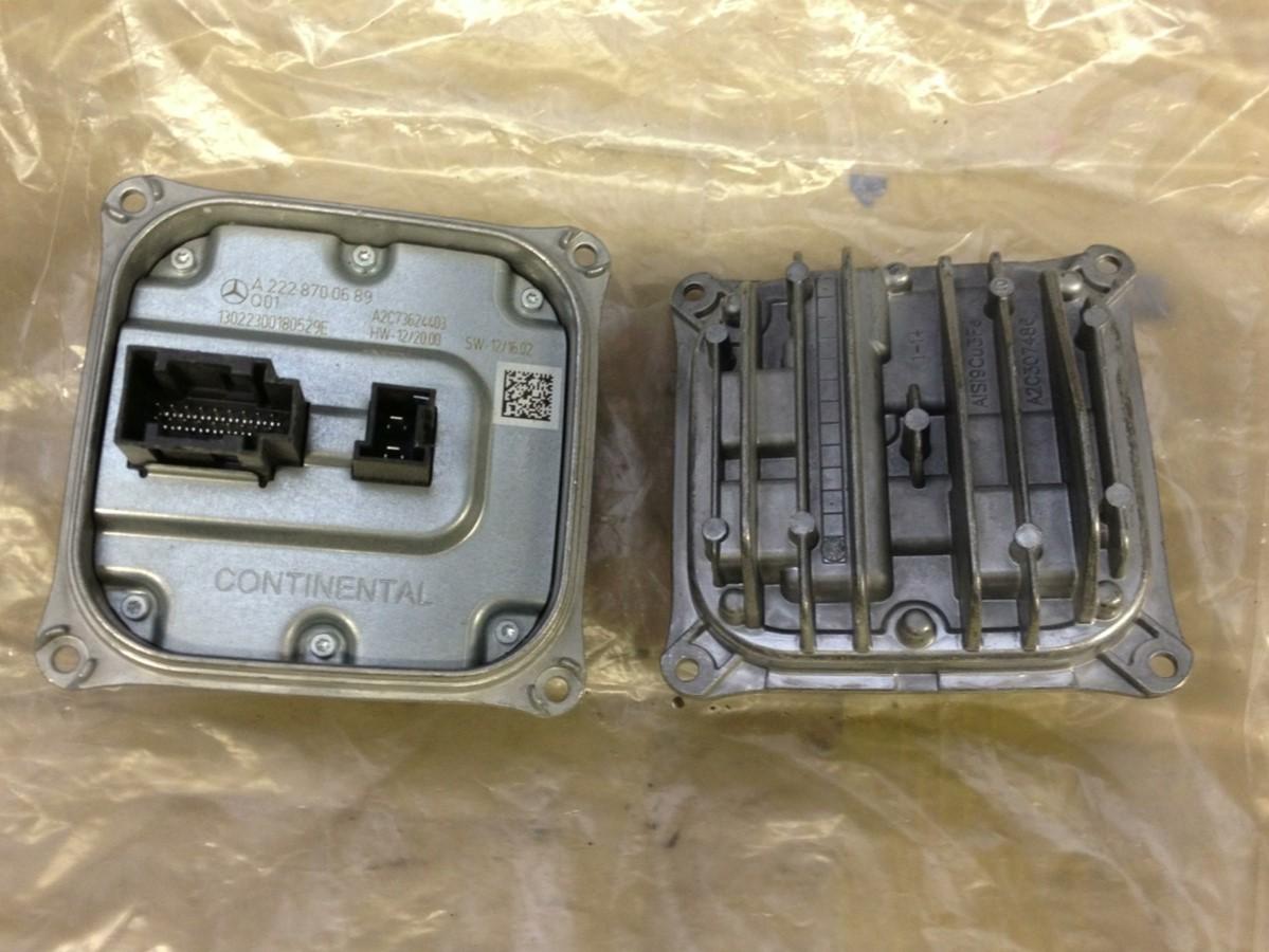 Mercedes xenon headlight control module ecu a2228700689 for Mercedes benz headlight problems