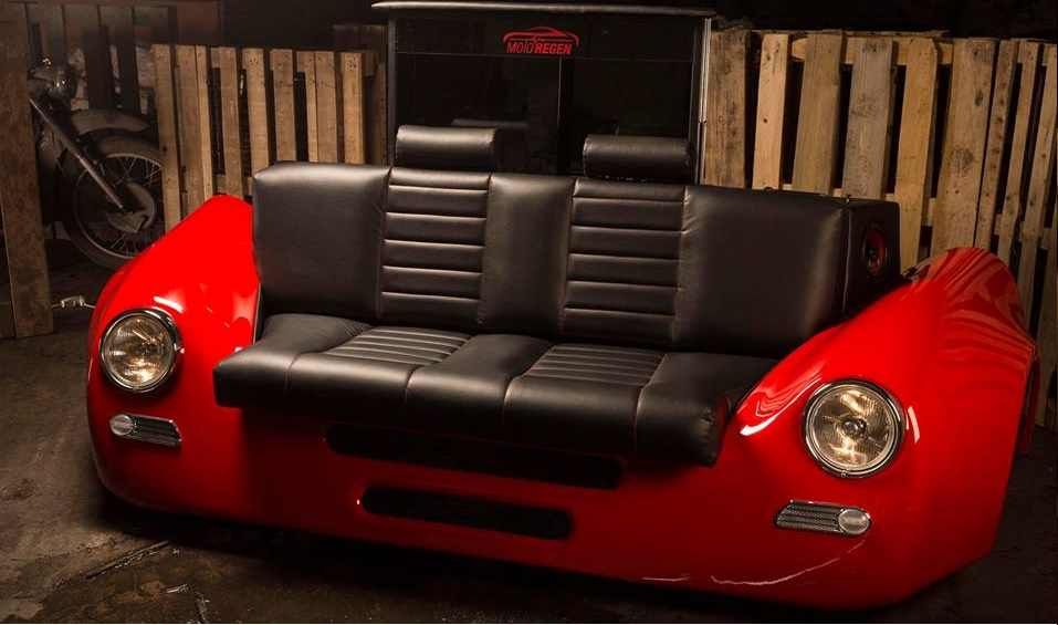 Unique Porsche Style Couch Sofa Evolution Gt