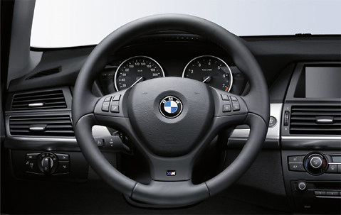 Bmw X5 E70 X6 E71 Steering Wheel M Sport Leather 2007