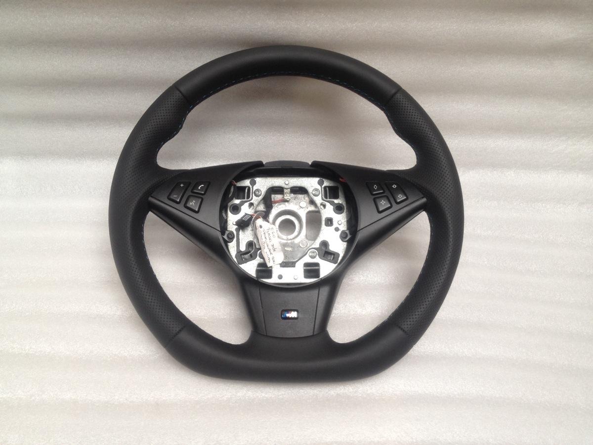 bmw e60 e61 e63 e64 m sport steering wheel flat bottom. Black Bedroom Furniture Sets. Home Design Ideas