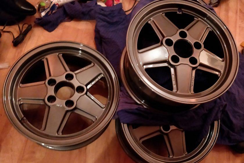 Penta Alloy wheels Grey Ronal Mercedes R107 SL SLC W123 W124 W126 SEC 15''