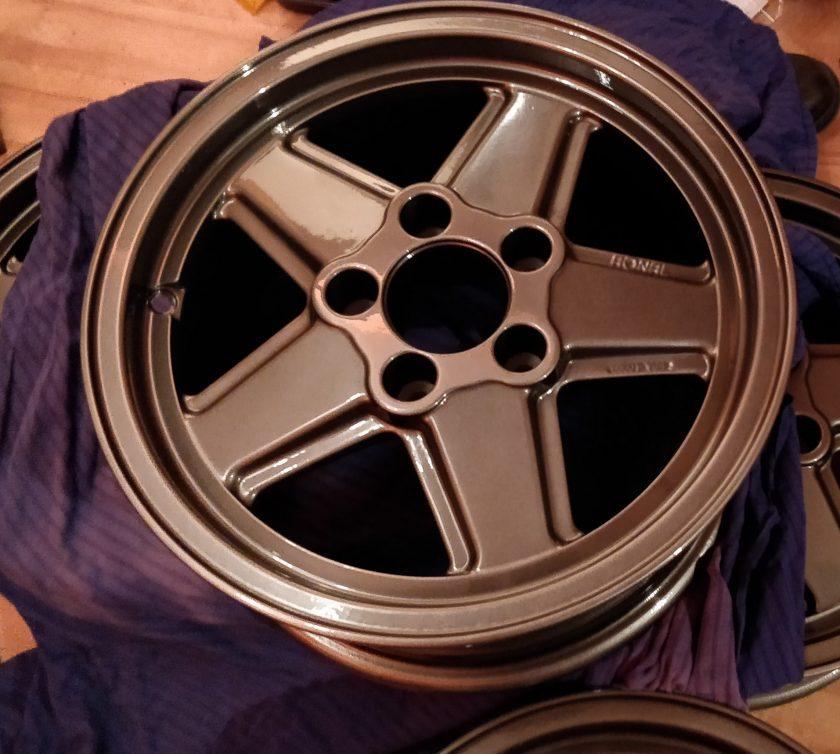 Penta Alloy wheels Ronal Mercedes R107 SL SLC W123 W124 W126 SEC 15''