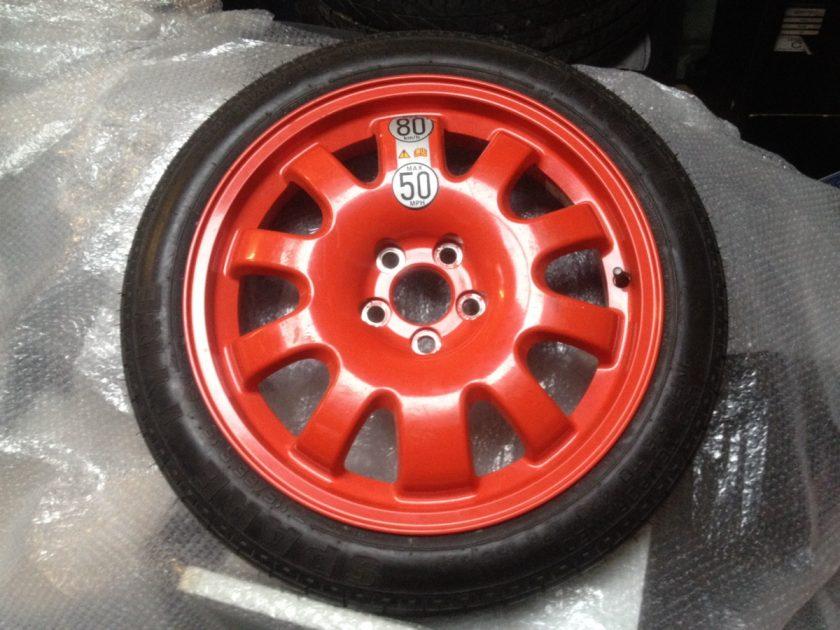 Jaguar XE space saver wheel 2R83-1007-RA 115/80/R18 NEW XJ XF