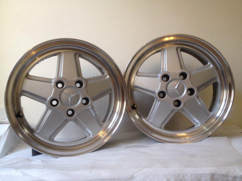 Alloy wheels PENTA 15'' ET35 f; Mercedes R107 SL SLC W126 KBA40989 Ronal