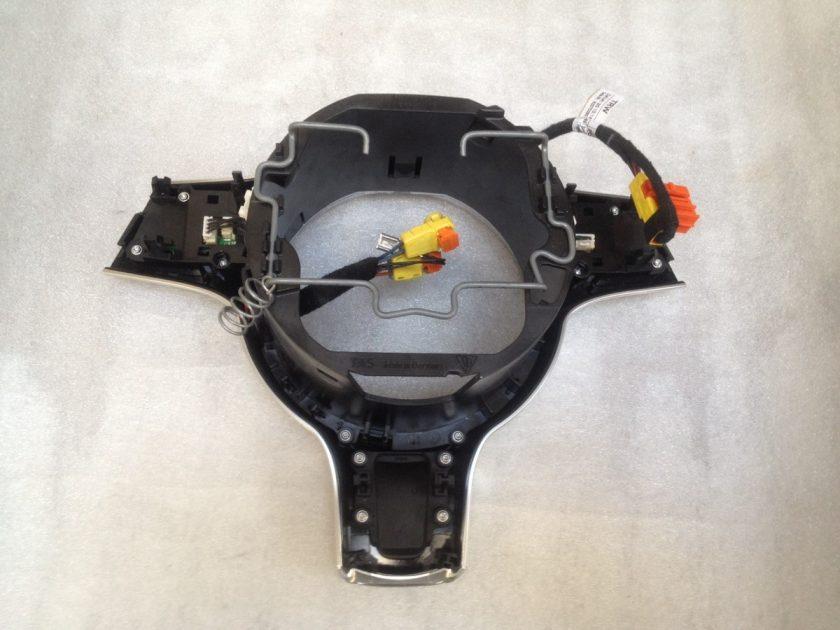 porsche steering wheel insert trim titanum silver 911 981 997 958 Cayenne