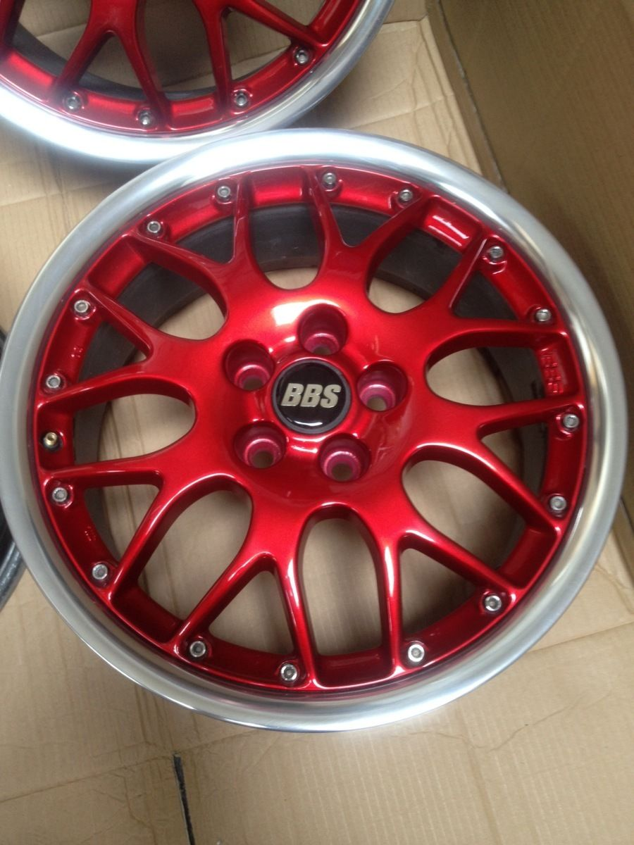 16 Bbs Rs771 Alloy Wheels Evolution Gt