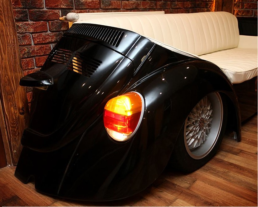 Vw Beetle Herbie Style Retro Car Sofa Couch Evolution Gt