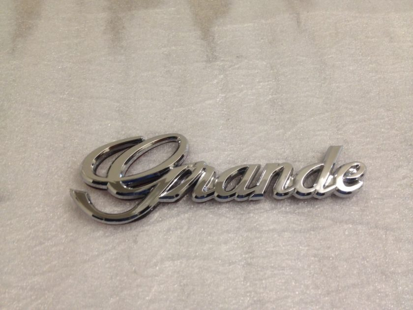 Grande badge for Toyota (2)
