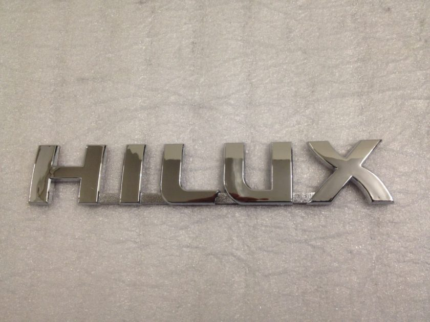 Toyota Hilux side rear badge 190mm