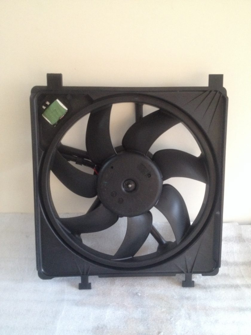 radiator fan VW UP SEAT MII SKODA CITIGO