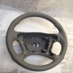 AMG steering wheel grey perforated W211 w209 SL55 R230 CLS
