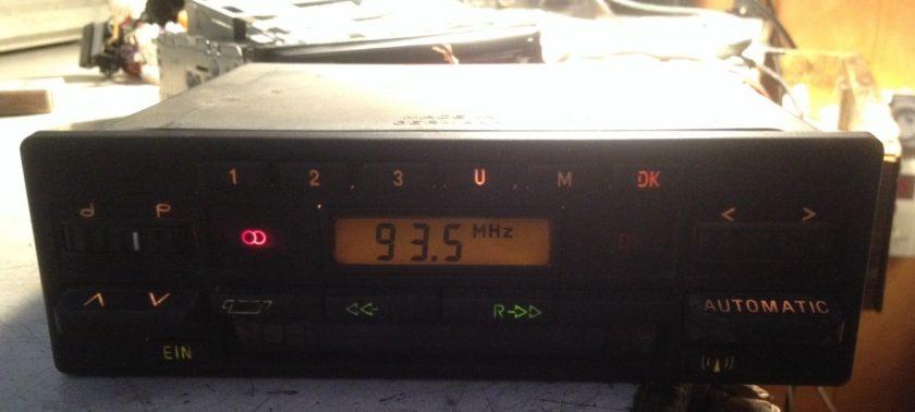 Becker Europa 730 RADIO CASSETTE BMW MERCEDES PORSCHE