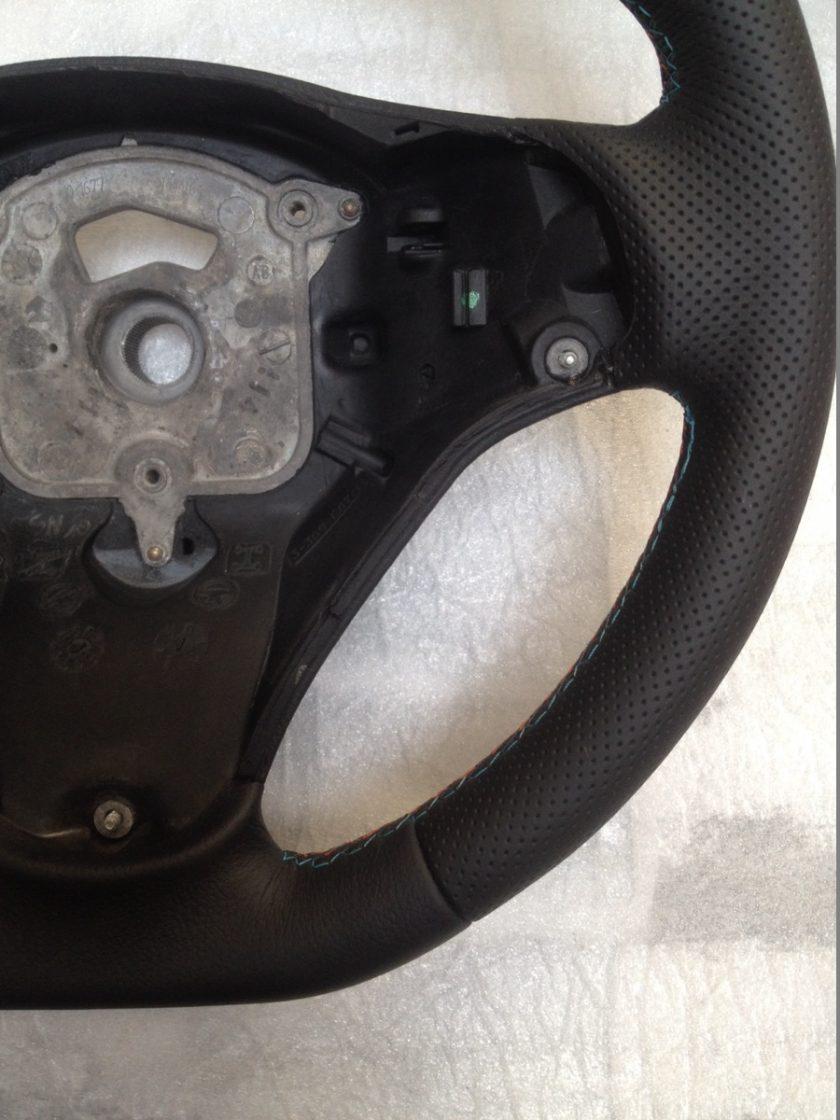 E87 E81 E90 E92 E93 m-sport flat bottom perforated leather custom