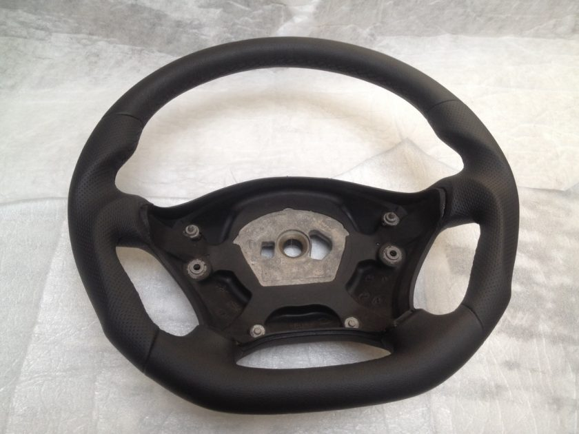 Sprinter steering wheel custom flat bottom thicker, thumb rest 06-14 9064640201