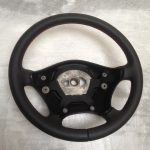 Sprinter steering wheel leather red stitching custom 06-14 9064640201
