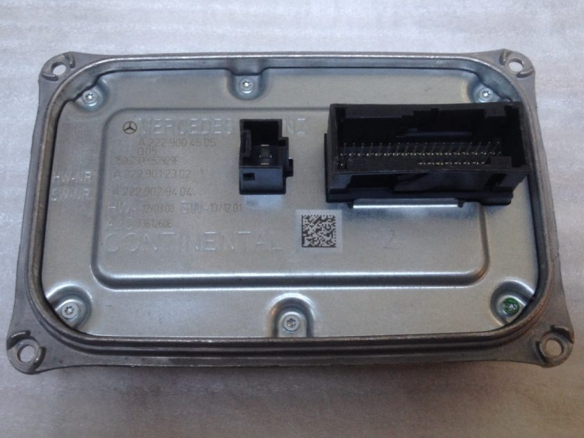 MERCEDES W222 S headlight control module A2229004505