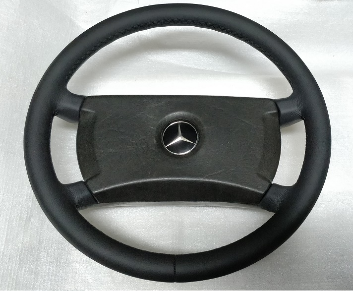 MERCEDES STEERING WHEEL LEATHER W126 R107 SL SLC W123 1264640017