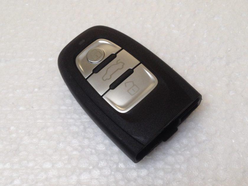 Audi remote key shall casing 3 button A1 A2 A3 A4 A5 A6 A8 Q7 Q8