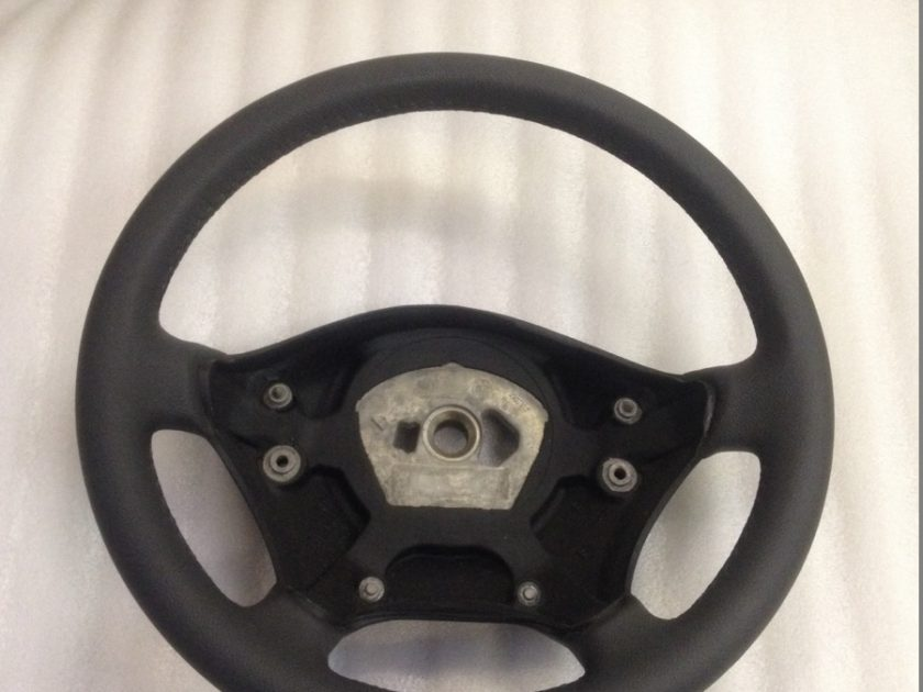 Mercedes Sprinter VW Crafter leather steering wheel 2006-2014