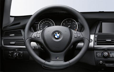 Bmw X5 E70 X6 E71 Steering Wheel M Sport Leather 2007