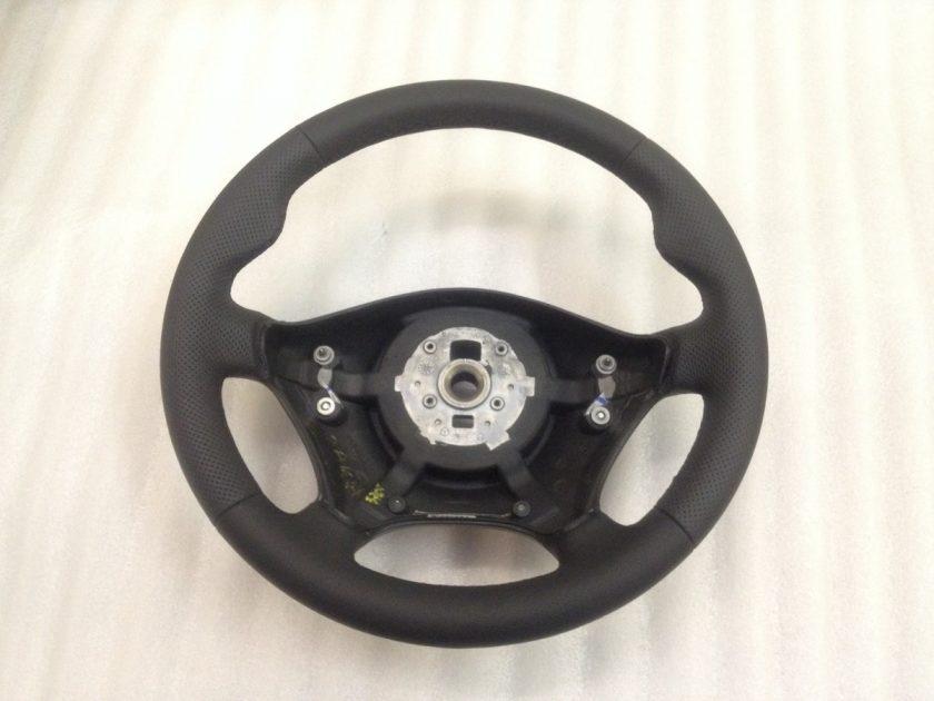 Mercedes Vito 639 steering wheel leather + thumb rests custom viano 2003-2010