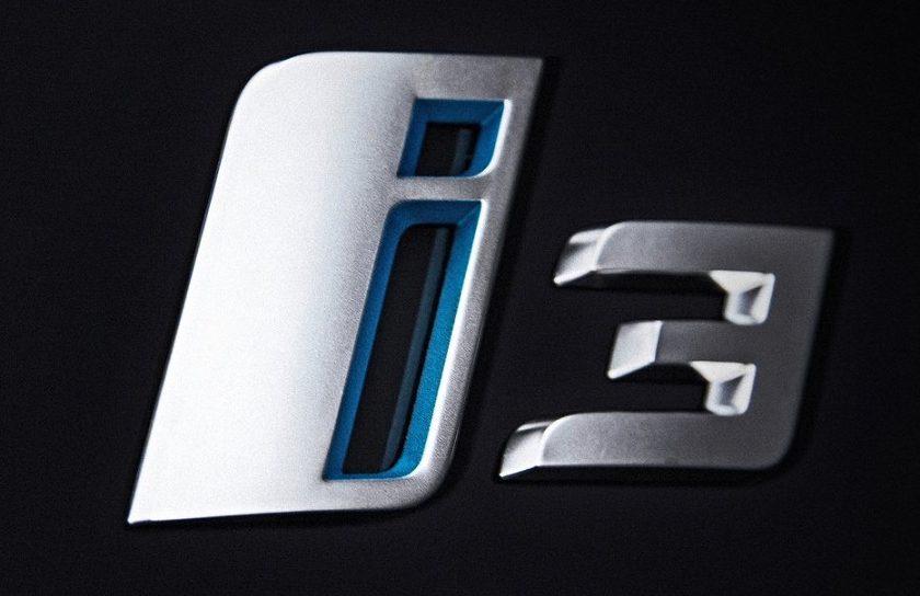 bmw i3 logo rear emblem 7306457