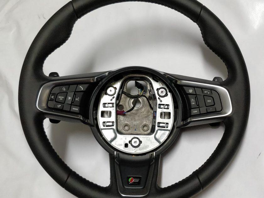 Jaguar XE steering wheel heated GX7M-3F563 Sport paddles 2015+