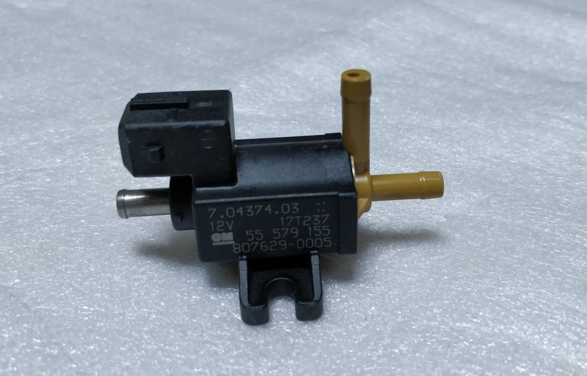 Boost valve Solenoid Opel Vauxhall 1.6T 7.04374.03 55579155 zafira astra
