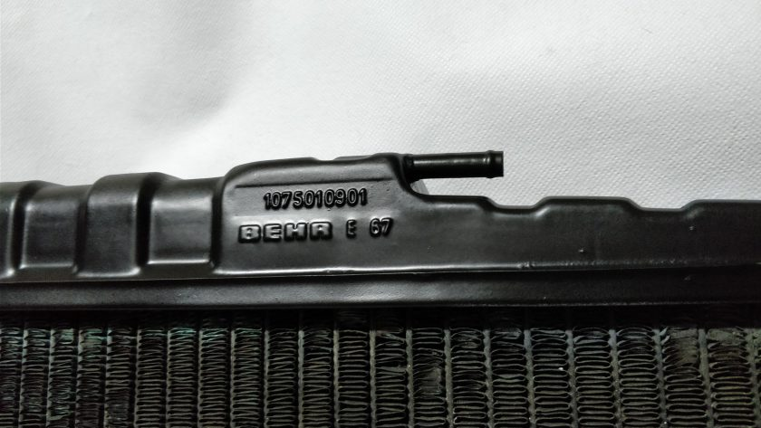 Mercedes cooling Radiator R107 1075010901