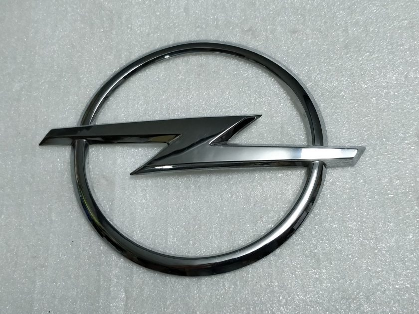 Badge Opel 112mm Corsa, Astra H 13154913 1251573