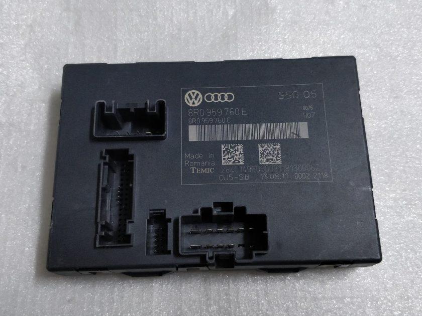 AUDI A8 S8 MEMORY SEAT CONTROL MODULE 4H0959760F