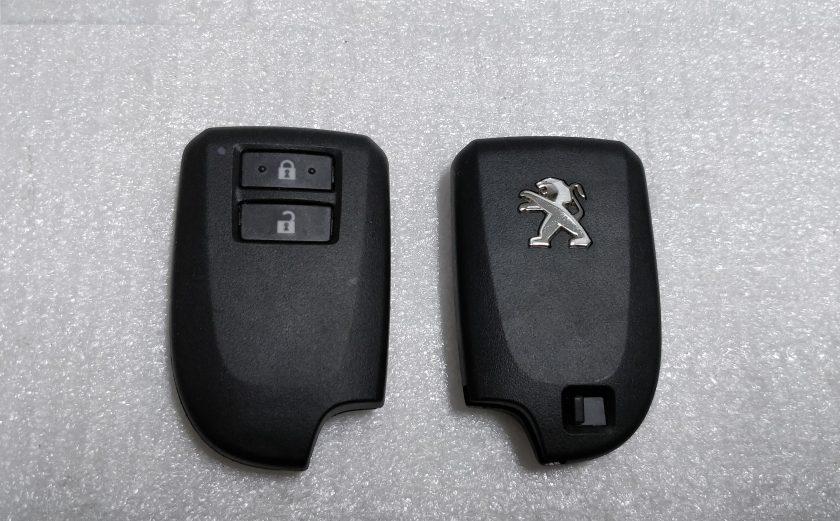 Peugeot 108 keyless smart key remote tokai rika BS1EW