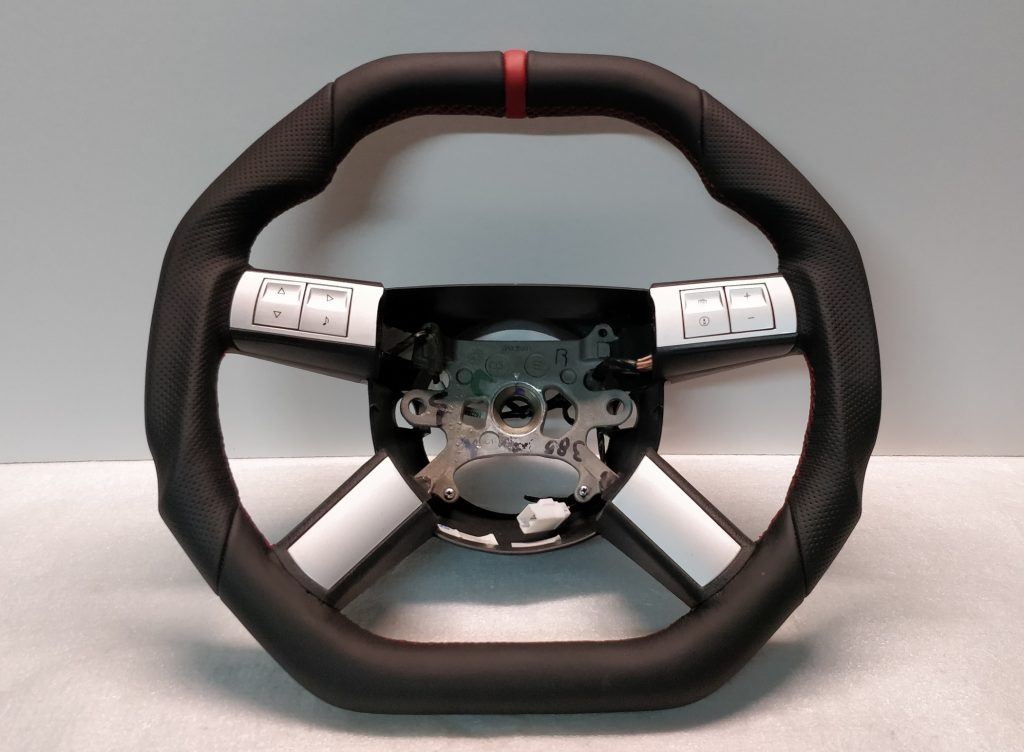 Dodge magnum charger steering wheel custom flat bottom top - Dodge magnum interior accessories ...