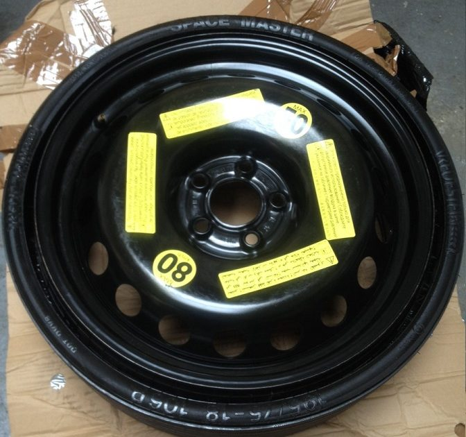 Audi Q5 SQ5 space saver wheel 5x112 8R0601027