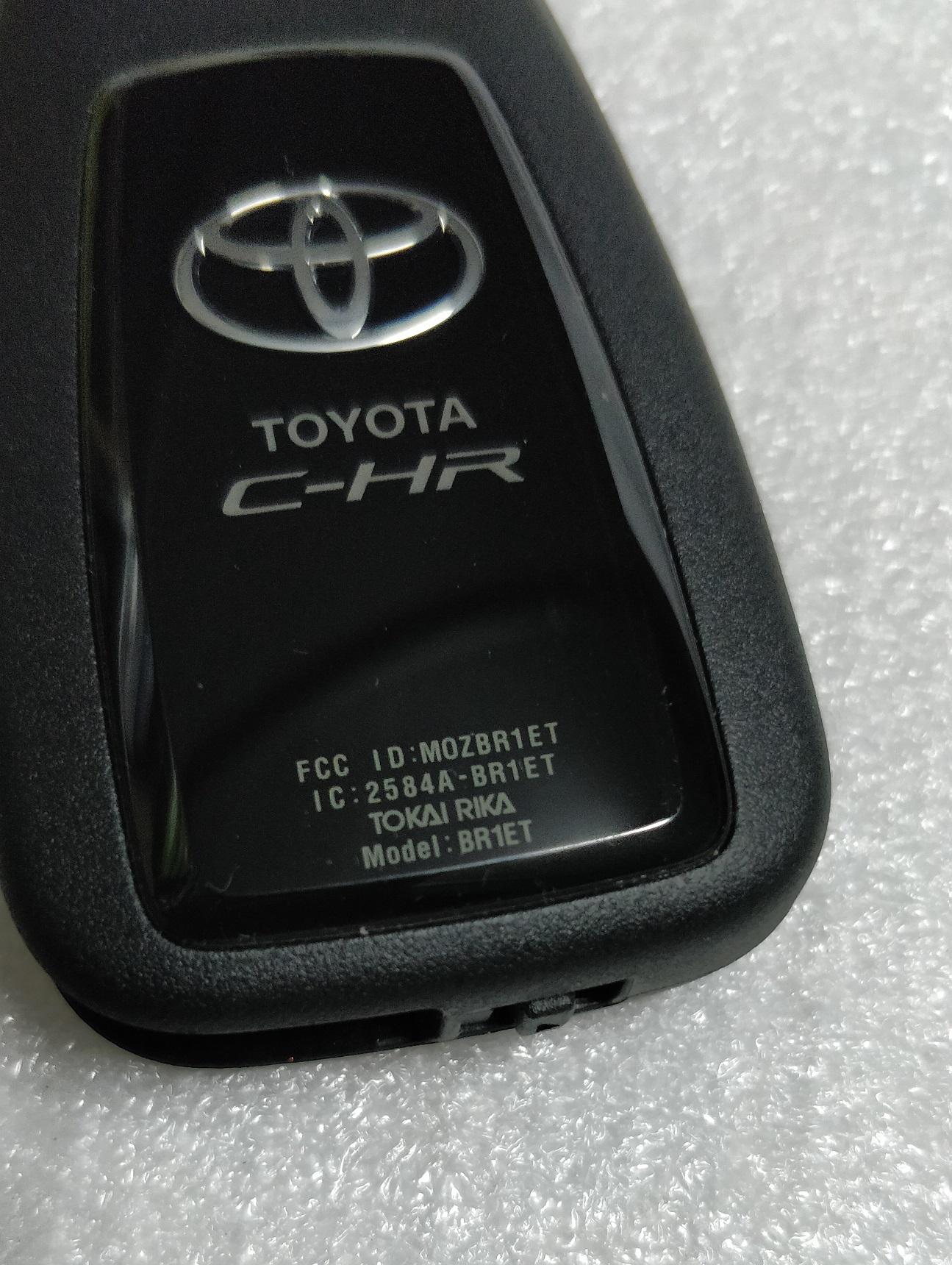 Toyota CHR Smart key BR1ET TOKAI RIKA Panic Button US (2)