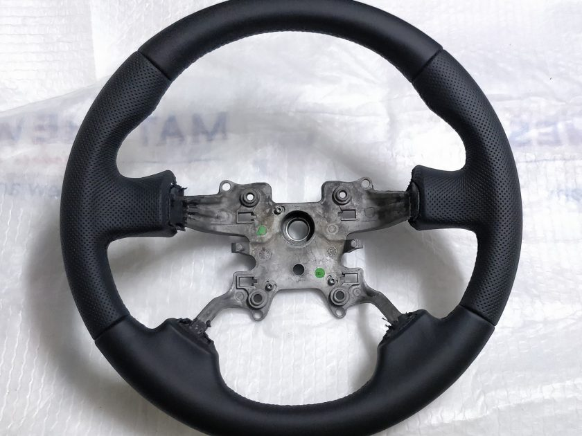 Land Rover DISCOVERY 3 steering wheel new leather