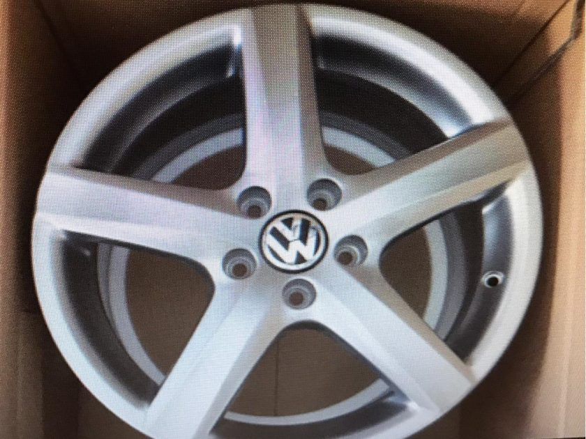 VW Audi Alloy wheels 17'' 3C0601025 AQ ET47 Passat EOS Golf GTI Seat Skoda NEW OEM