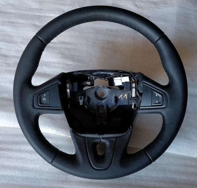 Renault Megane mk3 steering wheel new leather black 08-16 609581499
