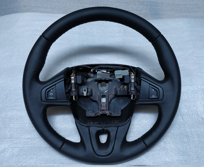 Renault Megane mk3 steering wheel new leather black 08-16 609581499