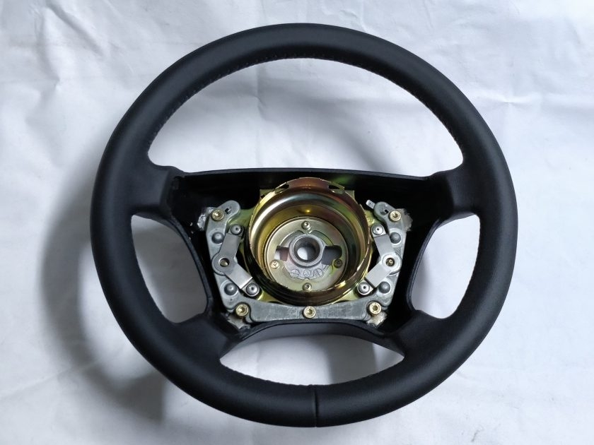 Mercedes steering wheel W124 W140 W202 W210 New leather 1404604603 R129