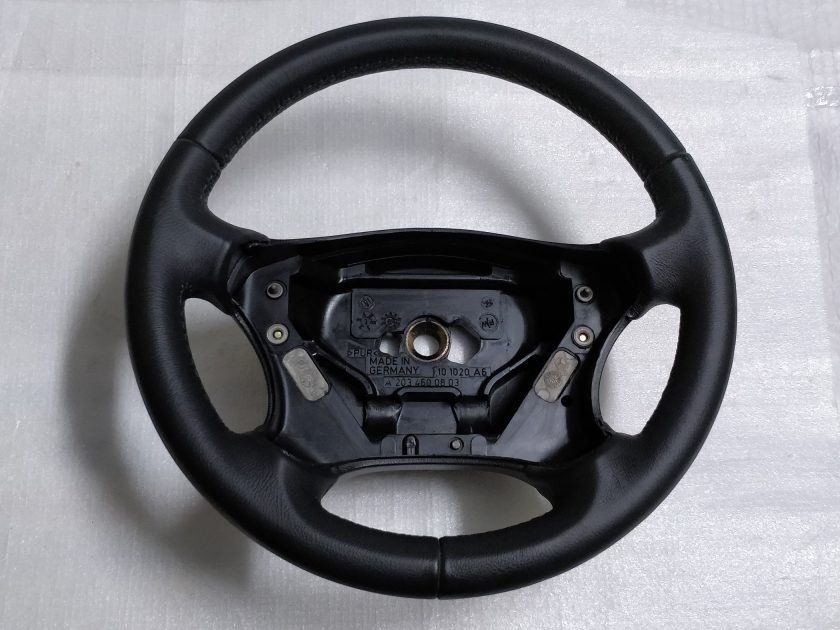 Mercedes W203 steering wheel S203 A2034600803 new leather C200 C320