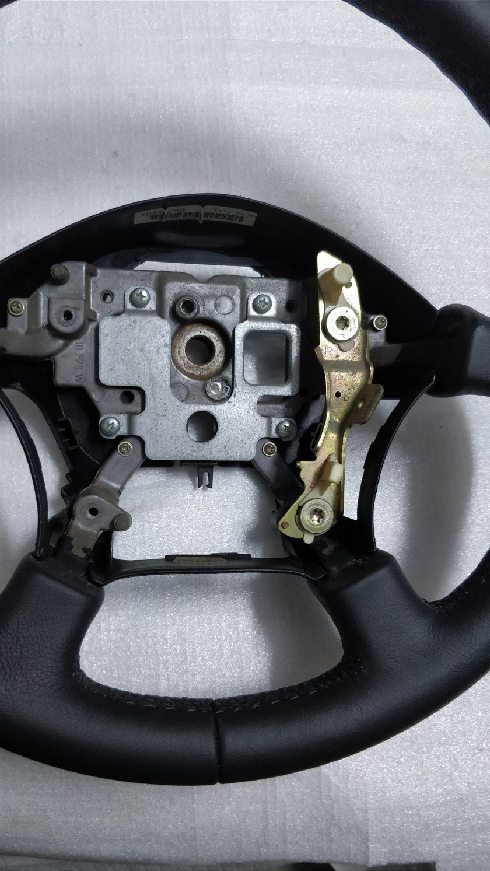 Leather Steering wheel Nissan Patrol Y60 Y61 Almera 6012373
