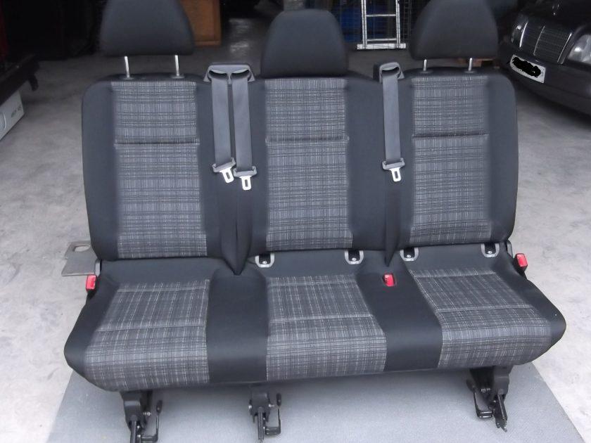 Mercedes Vito rear seats 447 V-class 3 seater bench