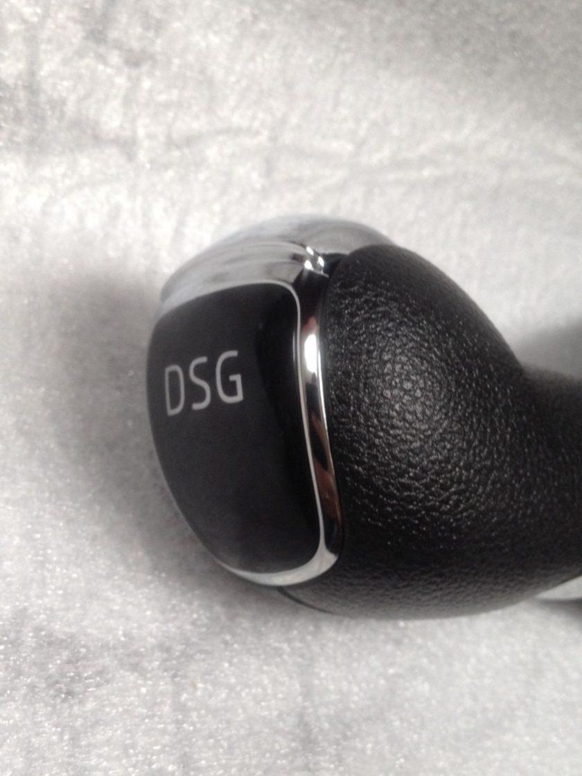 Skoda gear knob DSG gloss top 5J1713123 D Fabia Roomster LHD