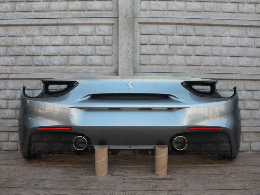 FERRARI 488 GTB REAR BUMPER CARBON