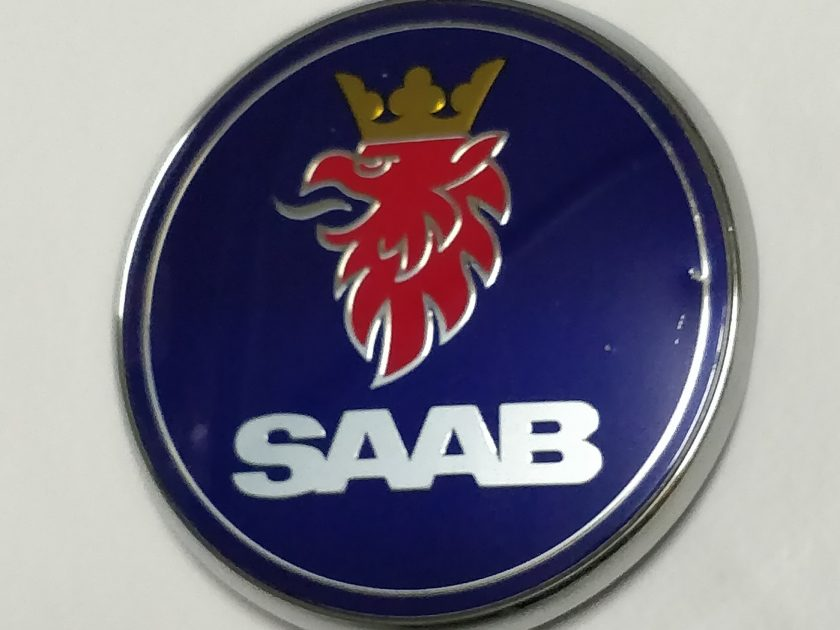 Saab badge emblem 12844161 5289905 12769686 93 95