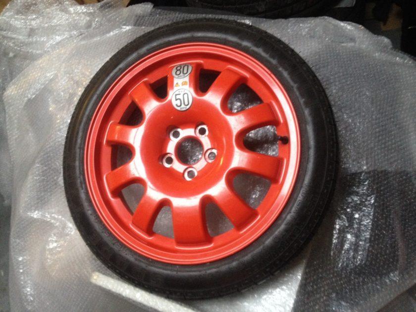 Jaguar space saver wheel 2R83-1007-RA 135/80/R18 NEW XJ XE XF